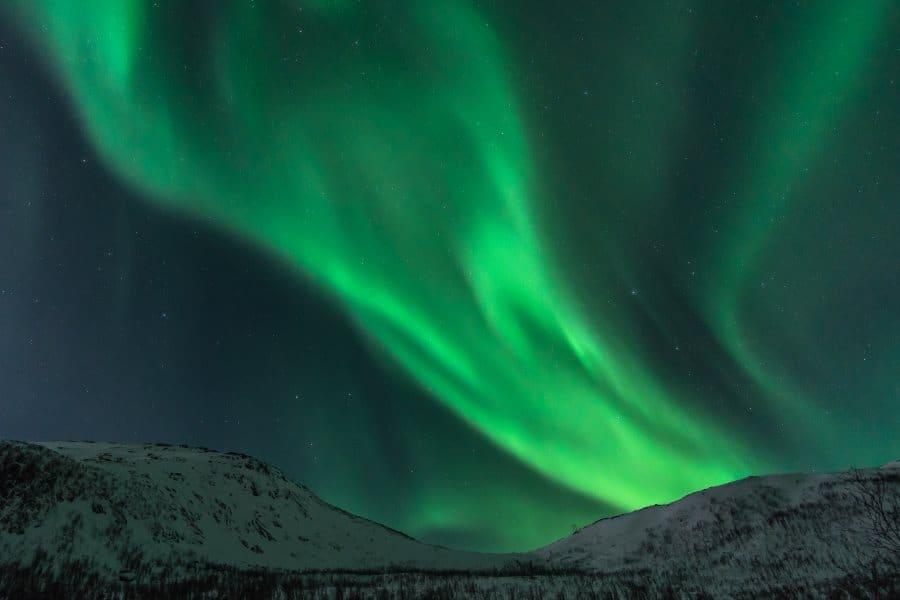 aurores boreales senja