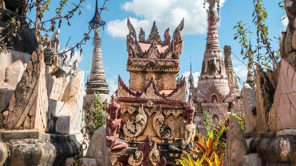 kakku vieilles pagodes