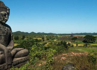 Temples Mrauk U bouddha