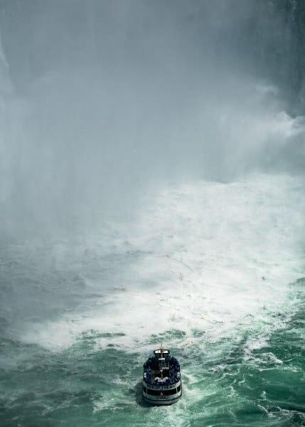 bateau chutes du niagara