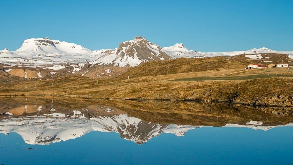 Snæfellsnes islande lac