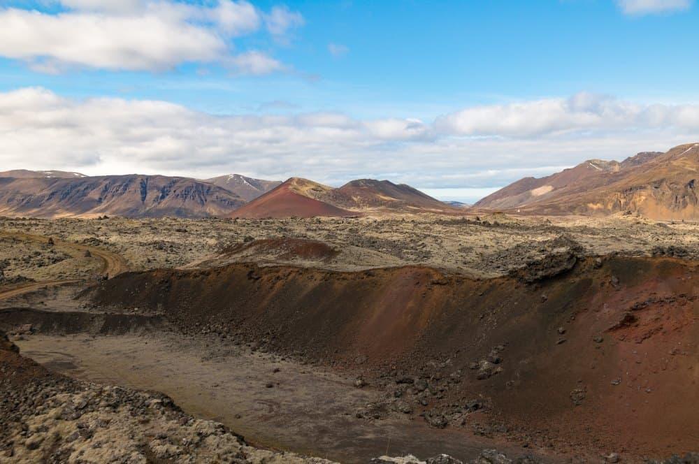 islande paysages volcans
