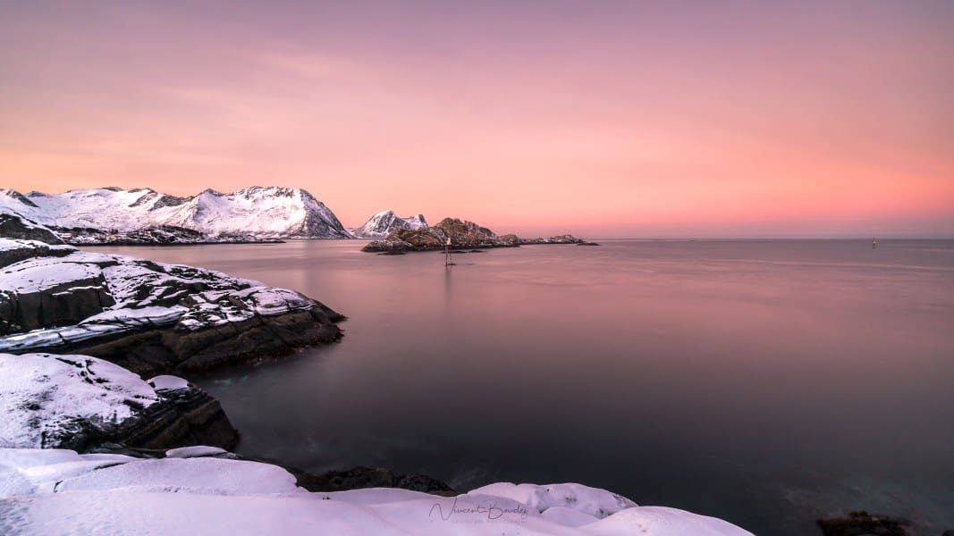 Sunrise in Senja