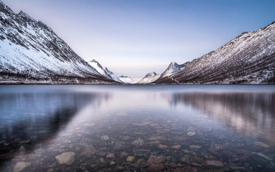 Fjord Gryllefjord Senja