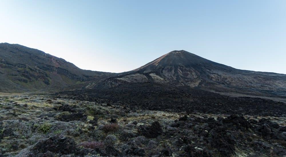 debut tongariro volcan