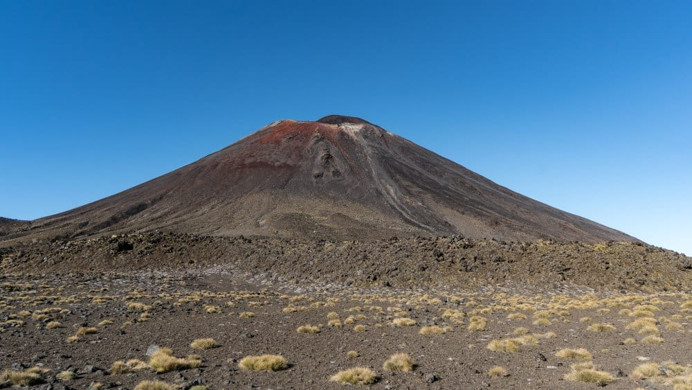 volcan ngauruhoe tongariro