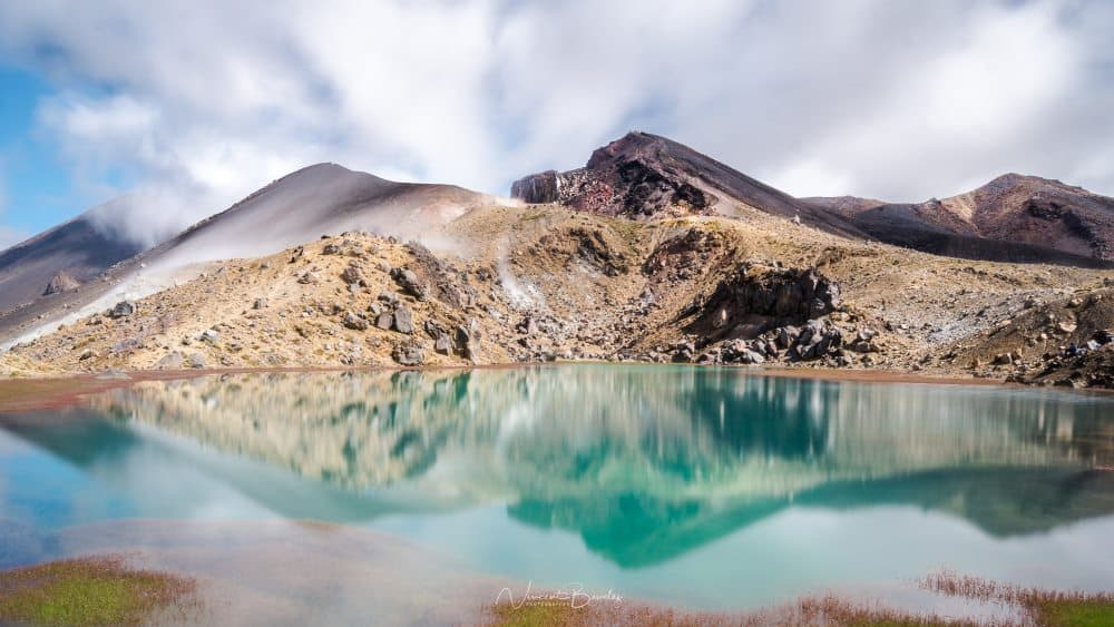 tongariro emerald lakes lacs