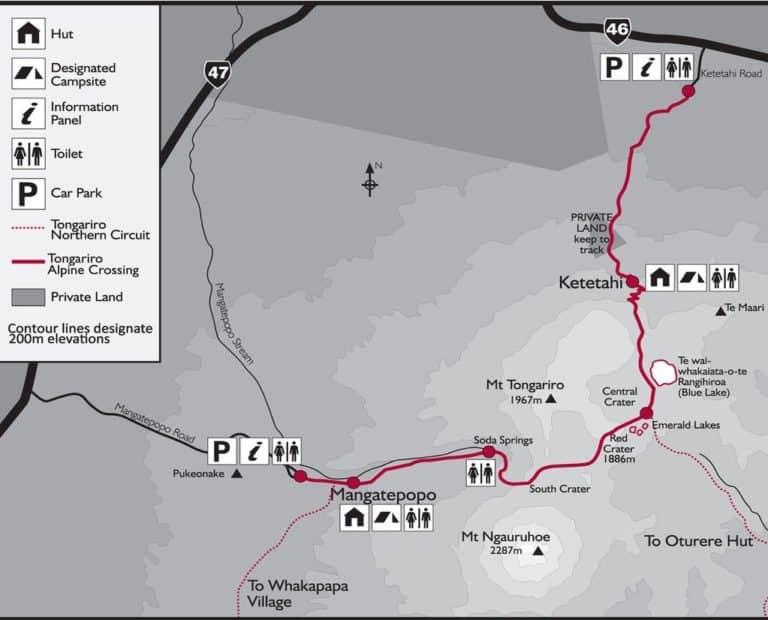 tongariro itinéraire