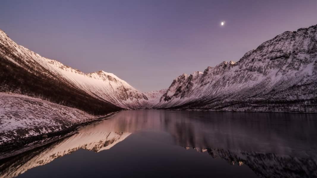 senja fjord norvege