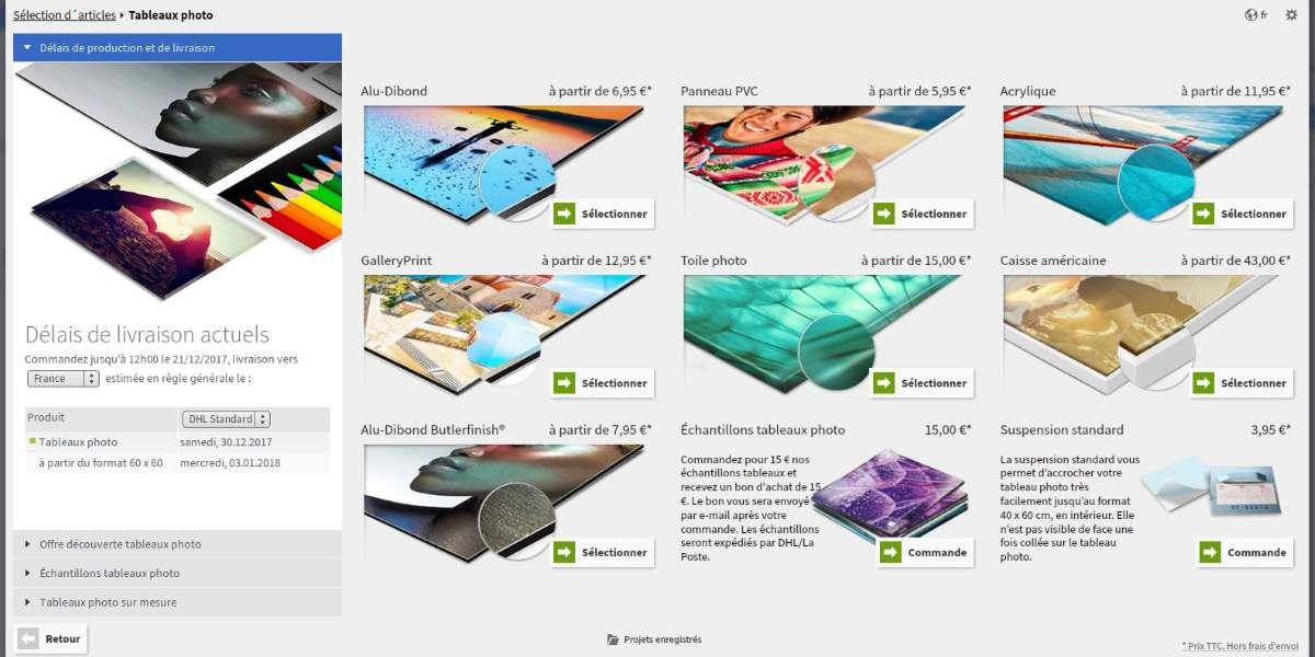 Saal digital impression