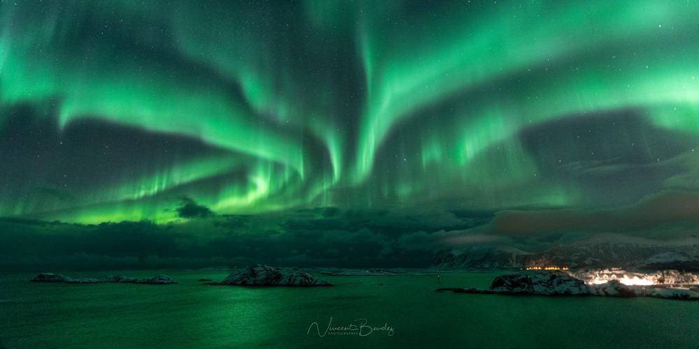 aurores boréales Senja Norvège photographier | Blog Vincent Voyage