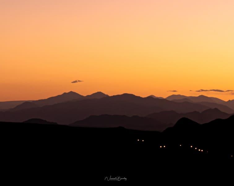 coucher de soleil montagnes cachi argentine salta blog voyage