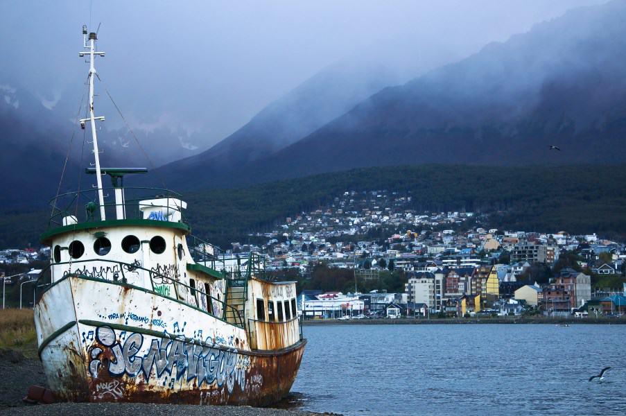 Port Ushuaia bateau terre de feu Argentine | Blog Vincent Voyage