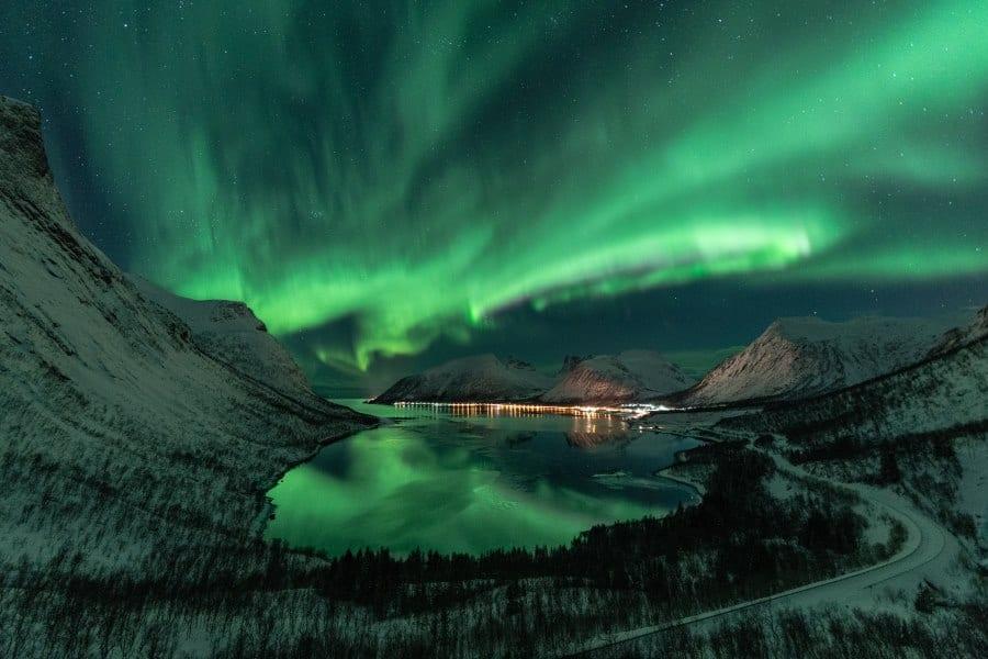 Aurores boreales en Norvège à Tromso, Senja, Bergsbotn | Blog Vincent Voyage