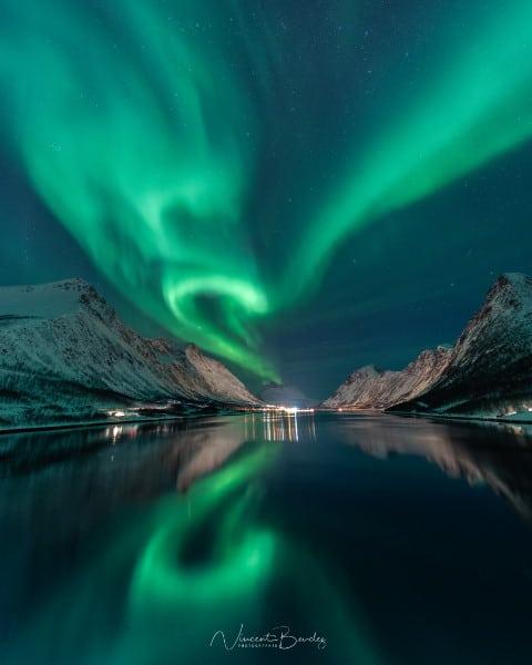 Aurores boreales en Norvège, Tromso, Senja, au gryllefjord | Blog Vincent Voyage