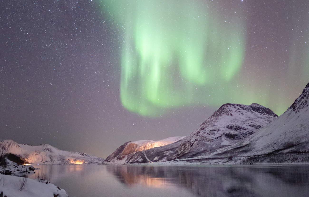 netteté aurores boréales photographie