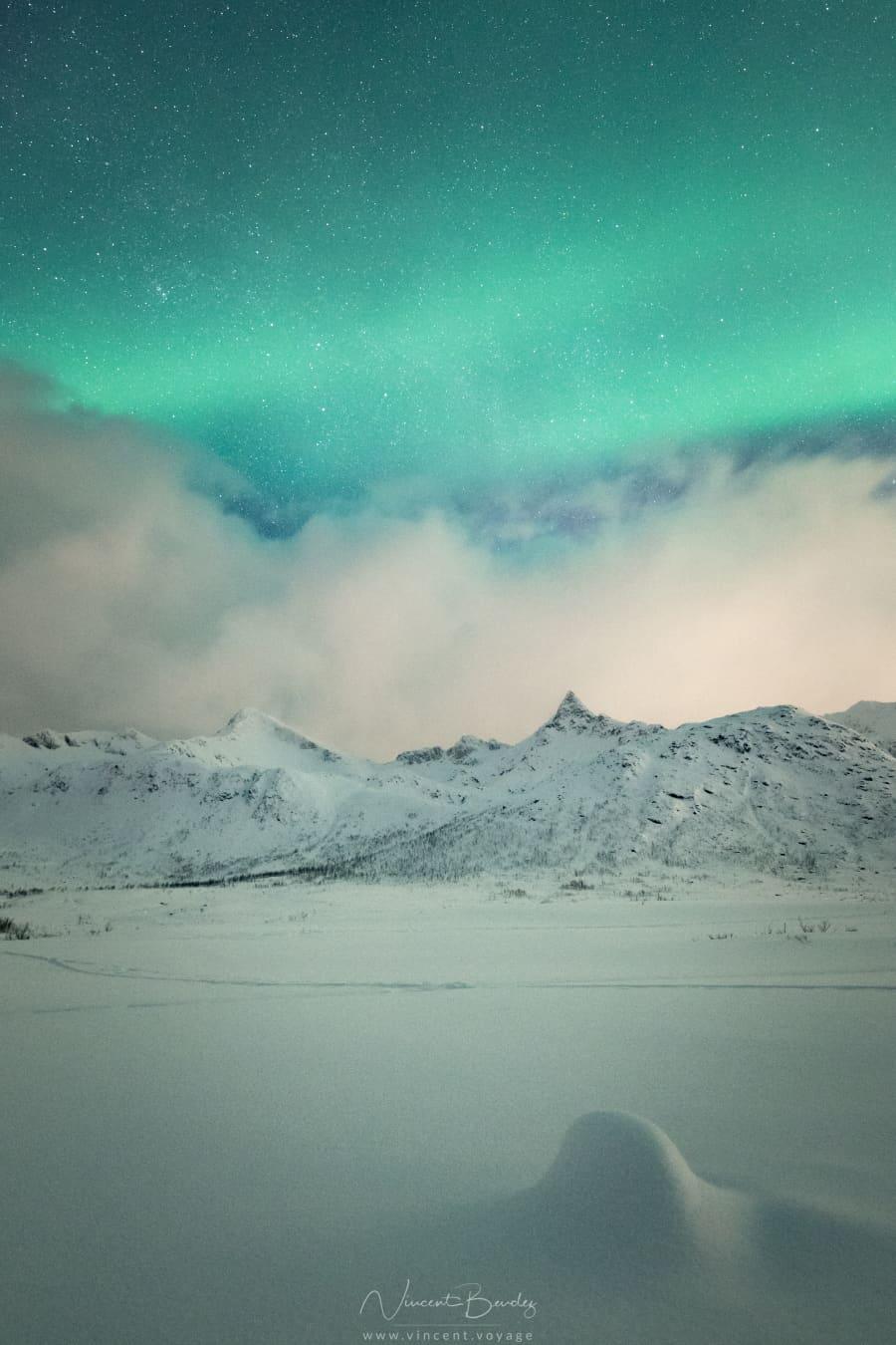 Aurores boréales Norvège