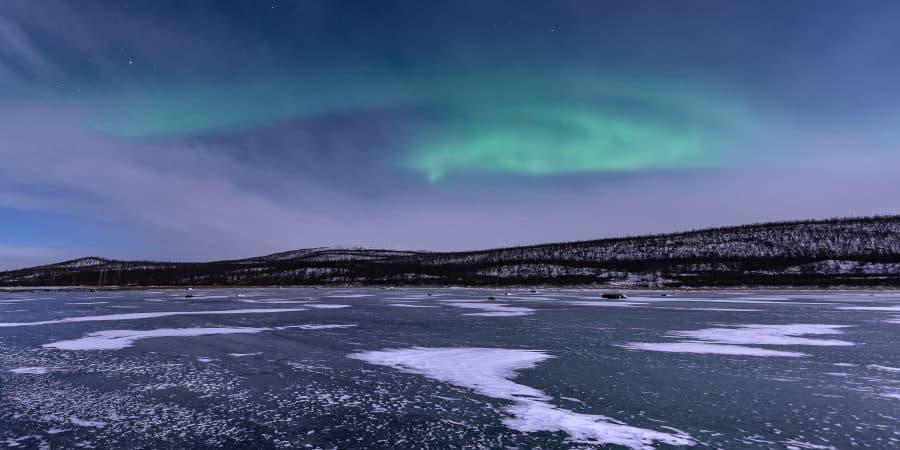 kilpisjarvi aurores boreales