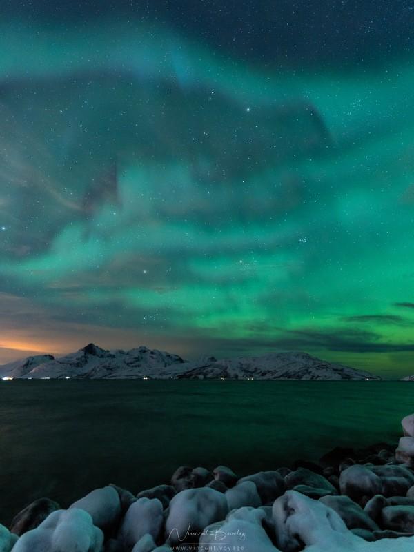 aurores boréales pulsatiles