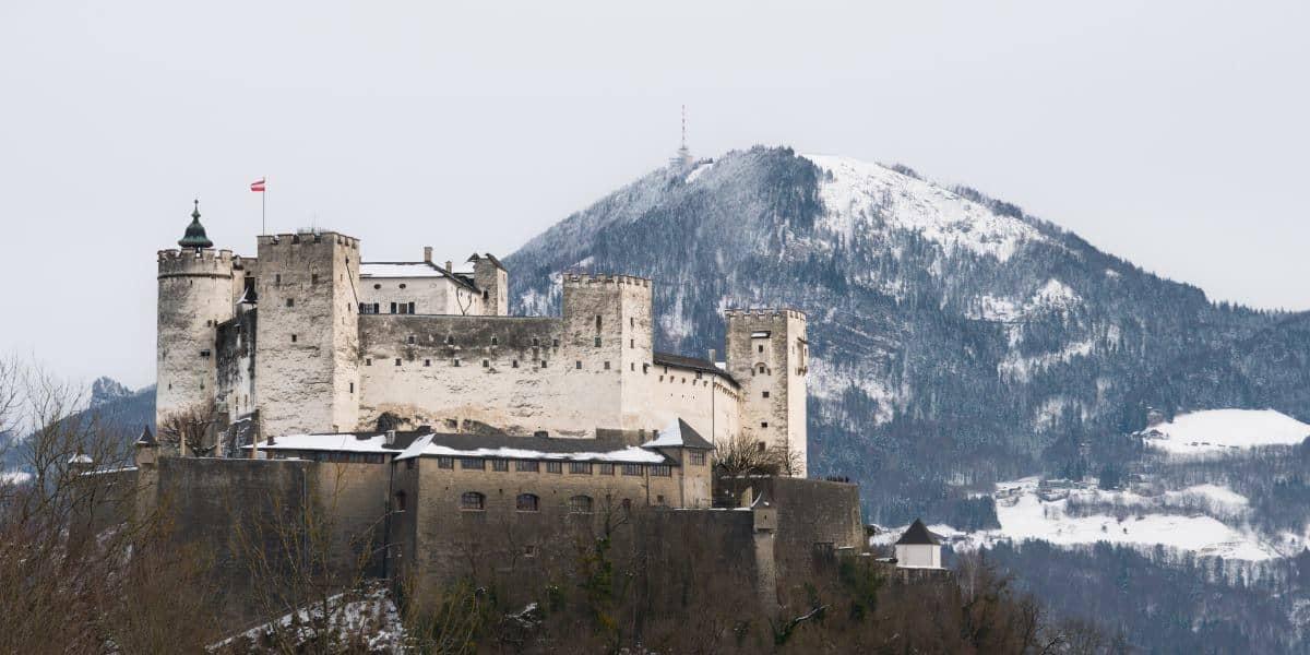 chateau Hohensalzburg salzbourg montagne Alpes Autriche | Blog Vincent Voyage