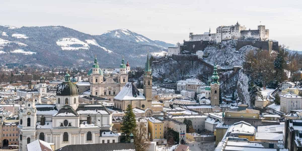 eglises salzbourg chateau Autriche Alpes | Blog Vincent Voyage