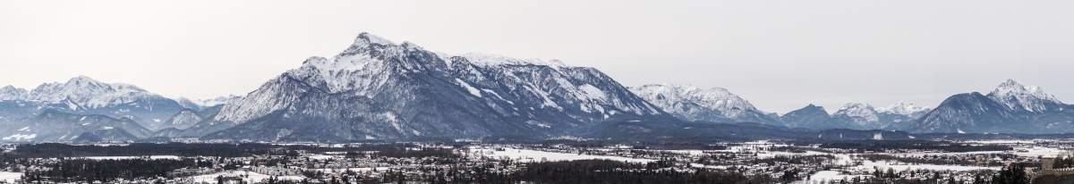 montagnes salzbourg