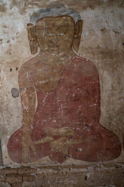 peinture temple de Bagan