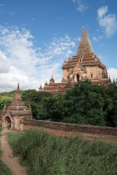 Temple de Bagan en Birmanie
