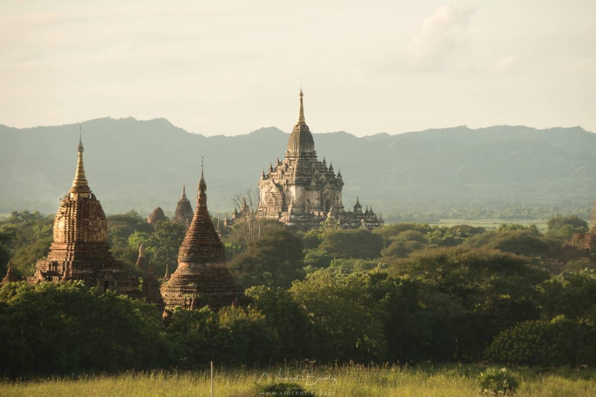 Les temples de bagan en Birmanie