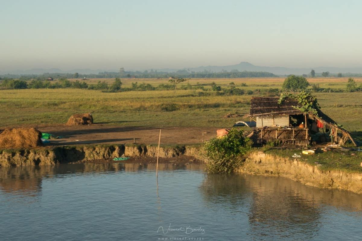 bateau Birmanie