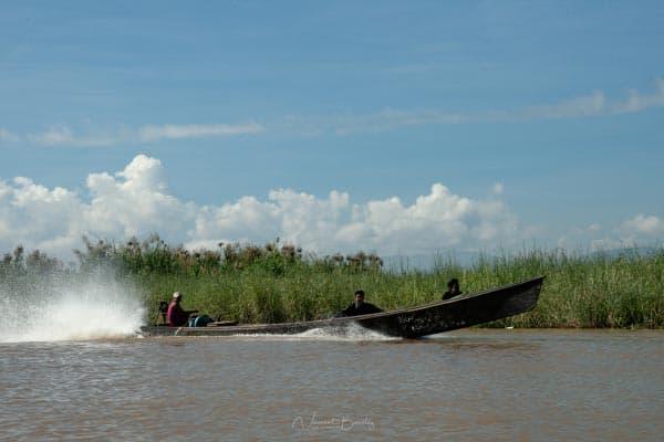 visiter lac inle bateau birmanie myanmar voyage