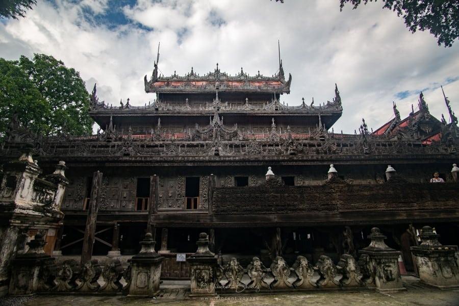 Monastère Kyaung Shwenandaw Mandalay