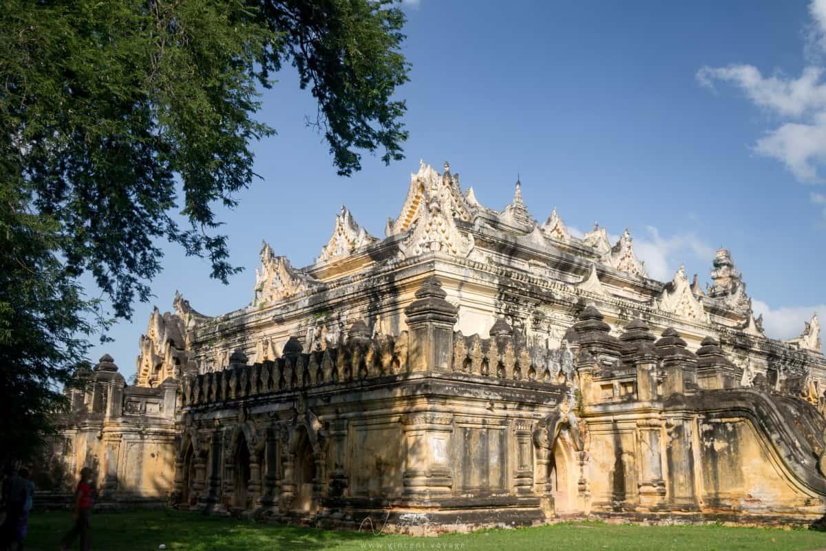 monastère Maha Aungmye Bonzan à Inwa Mandalay
