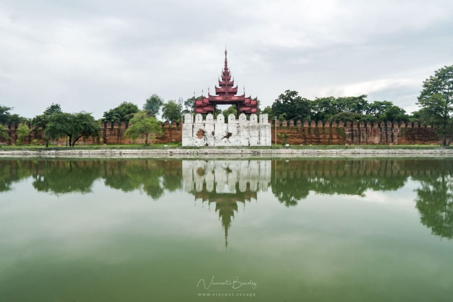 Remparts du palais Royal de Mandalay