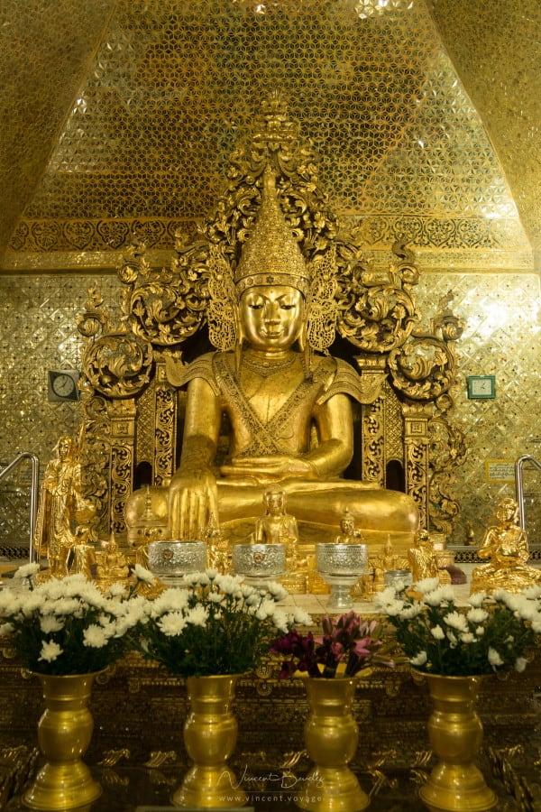 Bouddha Paya Sandamuni à Mandalay