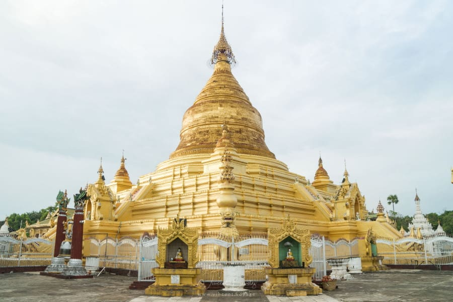 Pagode Kuthodaw à mandalay