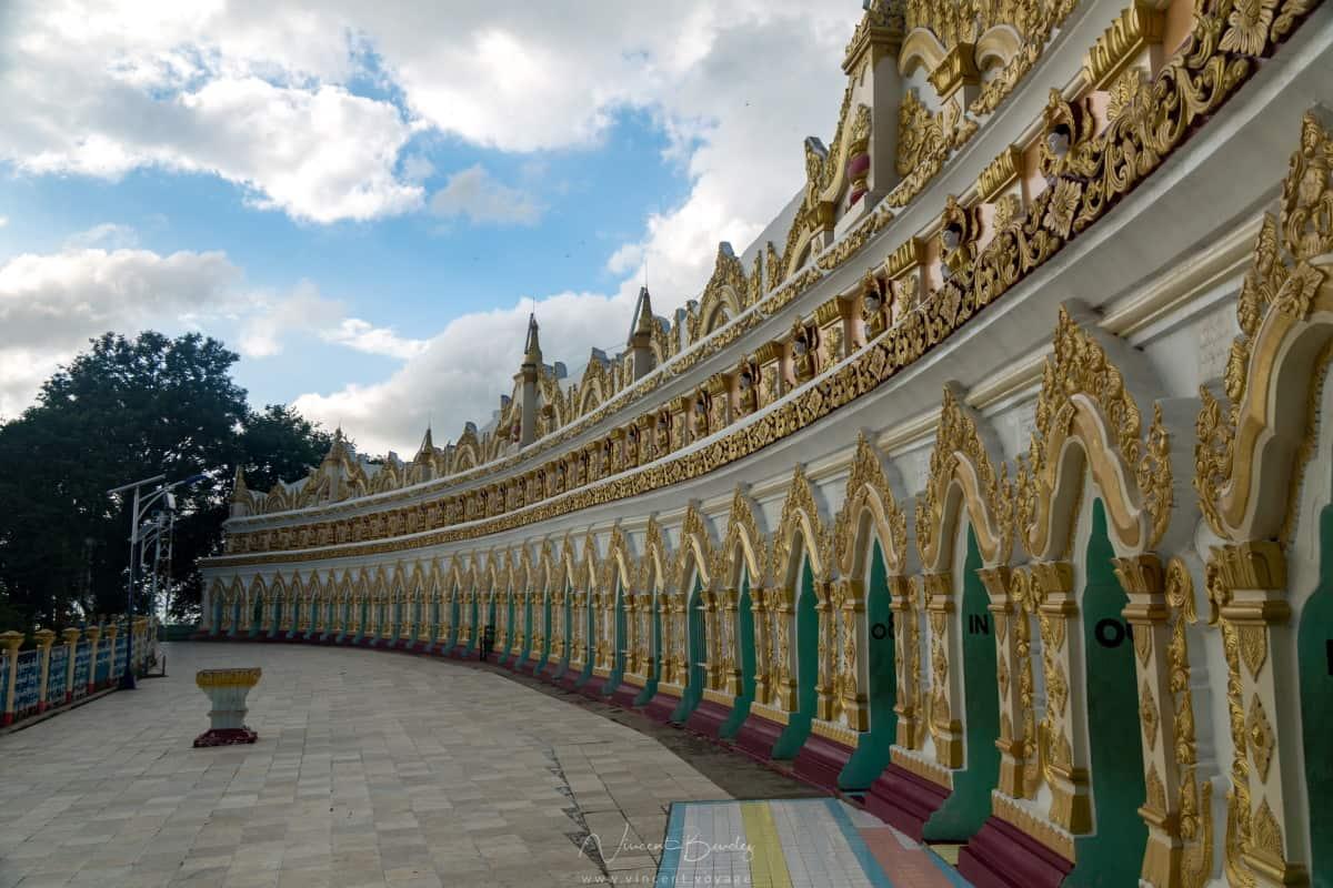 Cité royale de Sagaing à Mandalay