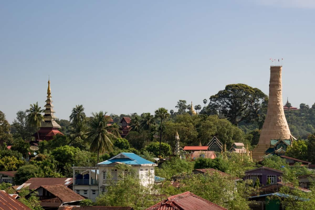 Ville de Moulmein en Birmanie
