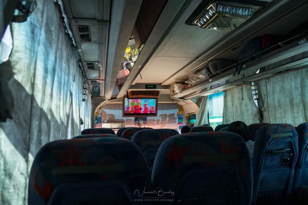 Rocher d'or mont kyaiktiyo busbus