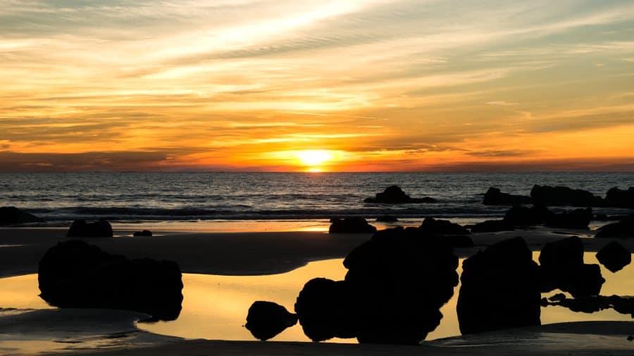 coucher de soleil plage Ngapali Arakan Birmanie Informations | Blog Vincent Voyage
