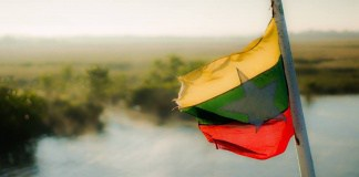 drapeau birmanie