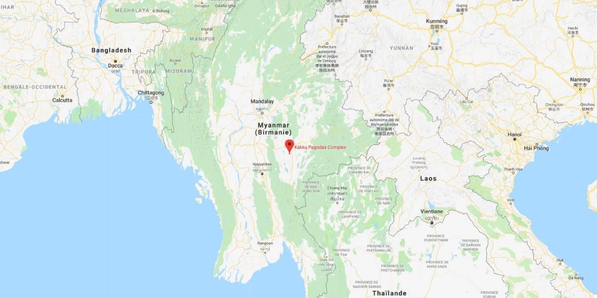 visiter kakku carte lac inle en Birmanie Myanmar   Blog Vincent Voyage