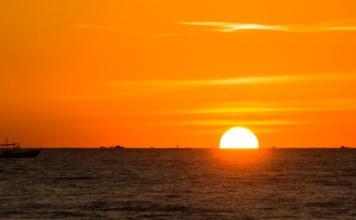 Coucher de soleil Ngapali Arakan Birmanie Informations | Blog Vincent Voyage