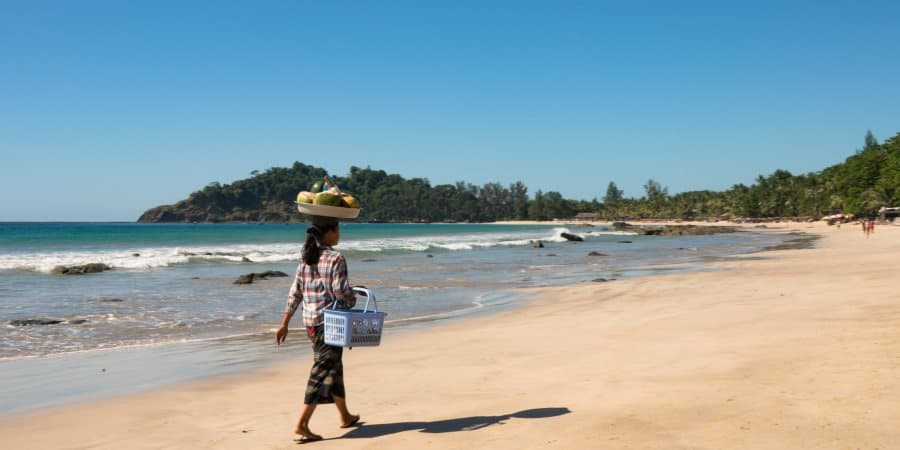 plage Ngapali Arakan Birmanie Informations | Blog Vincent Voyage