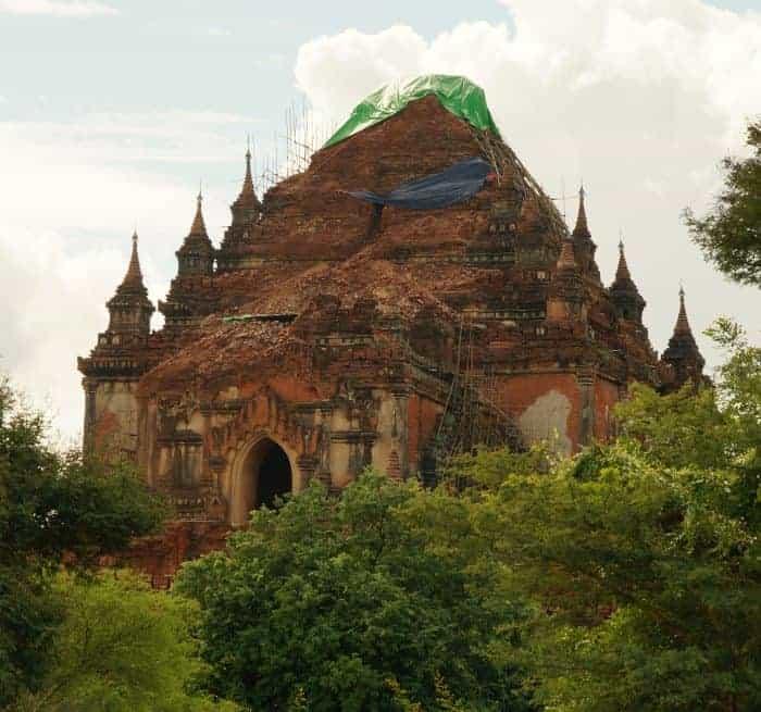 temple Sulamani bagan seisme