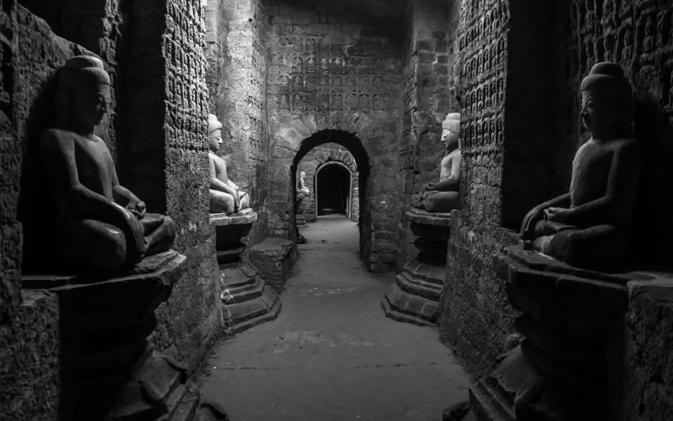 visiter temple kothaung bouddha mrauk u Birmanie Myanmar | Blog Vincent Voyage