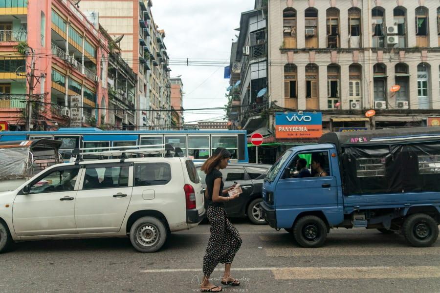 Découverte de Yangon en Birmanie