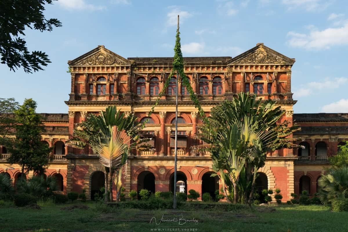 Architecture Coloniale Yangon en Birmanie