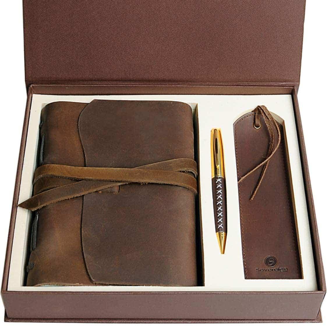 Journal en cuir