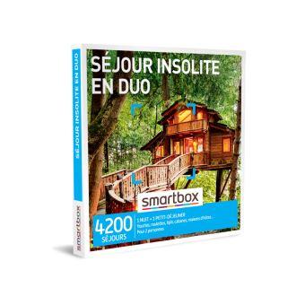 Smartbox séjour insolite